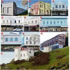 1. Donaghy's Rope Walk. 2. The former Otago Education Board Offices on the corner of Jetty and...