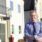 Gordon Scott  is leaving Oamaru after a 36-year career as a chartered accountant in his hometown....