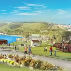 Select Contracts has ''completely'' changed its proposed zipline attraction for Oamaru Harbour....