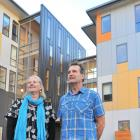 Te Pa Tauira-Otago Polytechnic Student Village manager Andy Thompson and Otago Polytechnic...
