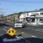 The Dunedin City Council plans to install an unusually shaped roundabout at the intersection of...