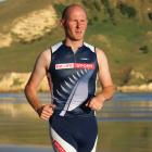 Andrew Sloan trains for the 2013 Wanaka Challenge race. PHOTO: SUPPLIED