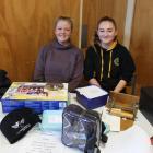 Invercargill Kennington Pony Club members Katelin Stuart (17), left, and Ashleigh Butson (16),...