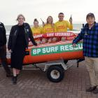 Harbour Fish manager Aaron Cooper, of Dunedin, Surf Life-Saving New Zealand Otago-Southland club...