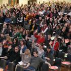 Dunedin primary school teachers are asked to raise their hand if they feel overwhelmed by the...