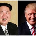 Kim Jong Un and Donald Trump. Photo: Reuters