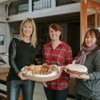 To celebrate National Volunteer Week, celebrity chef Annabel Langbein (left) donated baking to...