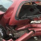 Barbara Hansen-Galyer was driving through Flat Bush when her car was rear-ended. Photo: Supplied...