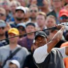 Tiger Woods put in a vintage performance at the British Open, carding 66, and setting up a mouth...