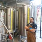 Jonathan Kauri is head brewer at Real Journeys' new resort restaurant and micro-brewery, Canyon...