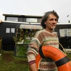 Just Doi is at odds with the council who say he is building a house which requires permits while...