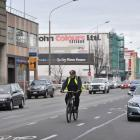 The Crawford St cycle lane will remain once the Dunedin one-way cycle route is complete, but...