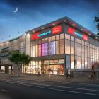 An artist's impression of the new Kmart building in Clyde St, Invercargill. Image: Supplied