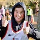 Daniel Joint (Year 7) enjoying Cross Country.
