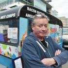 Stephen Cropper says his food truck outside the University of Otago's School of Dentistry was...