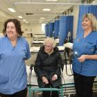 June Stephens (89) is shown around Dunedin Hospital's new $3.2million gastroenterology department...