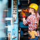 But a shortage of skilled trades people remains a key concern for economists. Photo: Getty Images