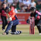 Danielle Wyatt led the way for England against New Zealand in the series final. Photo: Getty