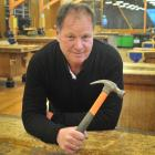 Carpentry senior lecturer Kevin Dunbar at Otago Polytechnic yesterday. Photo: Christine O'Connor