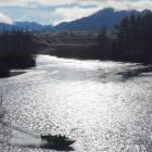 No more? Jet-boats will be a rare sight on this stretch of the Clutha River, near Albert Town, if...