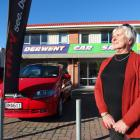 Derwent Car Sales owner Raeowna Rush reflects on her 48 years in charge of the business, which...