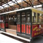 Roslyn No95 cable car will soon return from Christchurch to Dunedin to be featured at the new...