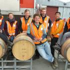 The competitors in this year's Central Otago Young Winemaker of the Year at the VinPro site in...