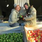 Former Aucklanders Jered Tate and Jodi Gillam-Taylor, pictured with Stella, recently bought...