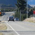 Flashing advanced warning signs have been installed at the intersection of Riverbank and...
