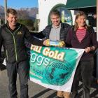 The donation of eggs by Central Gold Eggs to a Makarora trapping group will help them with bird...