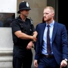 Ben Stokes leaves Bristol Crown Court after appearing last week. Photo: Reuters