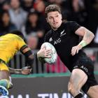 Beauden Barrett put in a commanding performance in the second Bledisloe Cup test in Auckland....