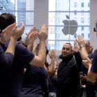 Apple Inc becomes the world's first  $US1 trillion ($NZ1.48 trillion) company. Photo: Reuters