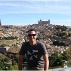 Alexandra House of Travel's Aaron Dyson on tour in Toledo, Spain. Photos: Supplied.