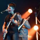 Amplified lead singer Rylan Urquhart (left) and lead guitarist Henry Chafer are part of a...