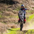 Motocross superstar Carey Hart — husband of Pink — is set to race today on a farm near Timaru....