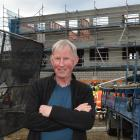 The co-developer of the 97 Filleul St apartments in central Dunedin, Neil Lyons. Photos: Gregor Richardson