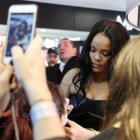 Rihanna attends a Sephora loves Fenty Beauty by Rihanna store event in Milan earlier this year....