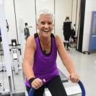 Natalie Yeoman works out at the University of Otago School of Physical Education, Sport and...