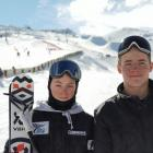 For Wanaka brothers Luca (left) and Ben Harrington, it does not get any better than competing in...