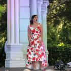 Soprano Natasha Wilson's performance in Dunedin will be her last before she heads overseas to...