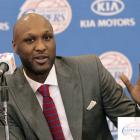 Lamar Odom. Photo by Reuters