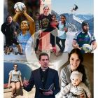 The 2008 Class Act recipients include (clockwise from top left): Luke Robson at the top of Mount...