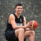 Nathan Hanna back at Otago Boys' High School after helping the Junior Tall Blacks to second place...