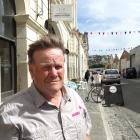 Bruce Blackie outside his Harbour St business last year.