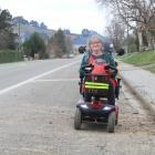 It can be a bit of a bumpy ride for Palmerston's Dena Henderson, who on her mobility scooter...