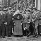 Sir Joseph Ward (third from left) and the Prime Minister of New Zealand, the Rt Hon William...