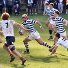 The 2018 premiership final between Otago Boys High School and John McGlashan College at...
