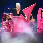 Pink performs during her Beautiful Trauma World Tour visit to Australia. Photo: Getty Images