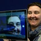 Microsoft Innovative Educator Fellow and Taieri College science teacher Rachel Chisnall uses...